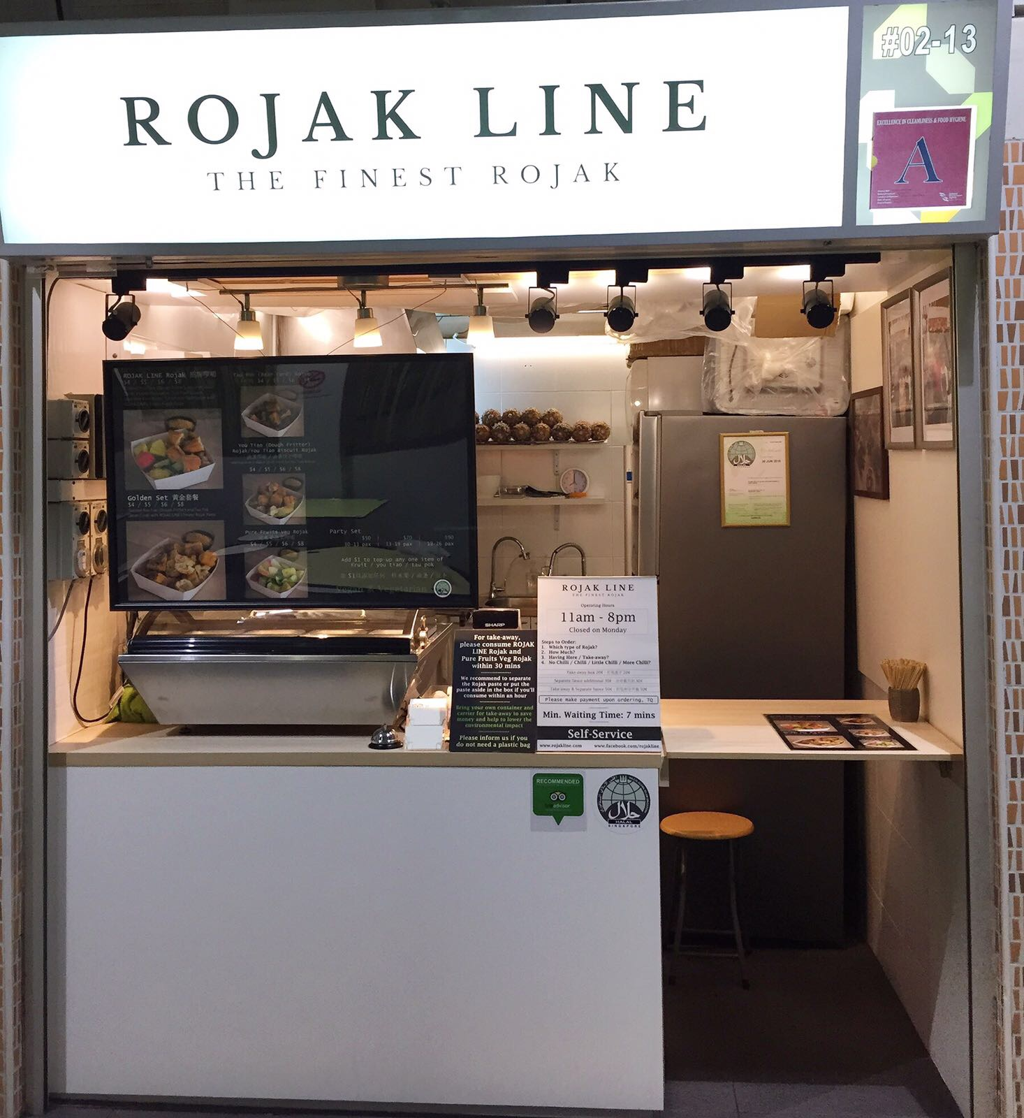 ROJAK LINE, Best Rojak in Singapore, Vegan Rojak, Vegetarian Rojak