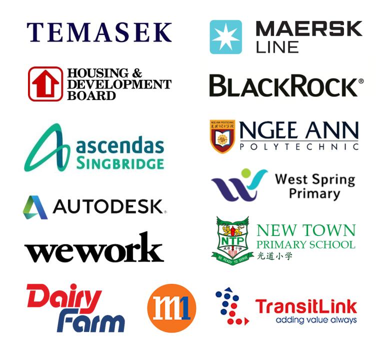 ROJAK LINE Past Corporate Clients