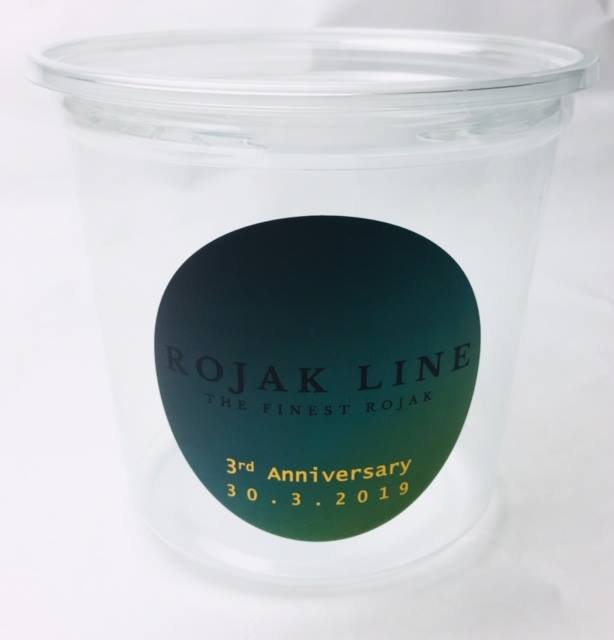 ROJAK LINE 3rd Anniversary Container